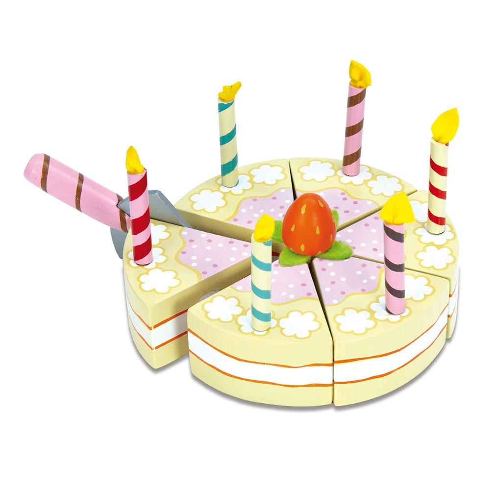 Le Toy Van, Honeybake - Vanilla fødselsdagskage