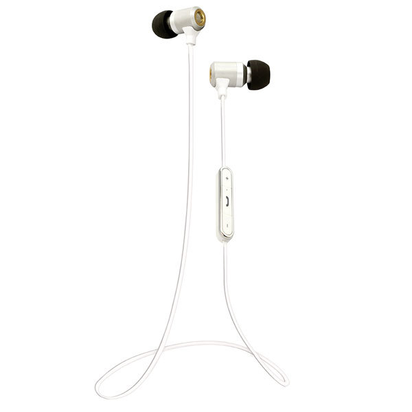 Vivanco Bluetooth Hörlurar Vita - Hörlurar - shopse.gogift.com c310023f974ff